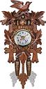 Reloj de pared de cuco Bird Wood Hanging Decoraciones para Home Cafe Restaurante Arte Vintage Chic Swing Living Room Style 1