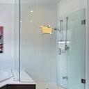 Práctico WC 3D WC Hombre y Mujer Espejo Etiqueta de La Pared DIY PET Home Extraíble Decoración Pegatinas