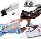 Mini máquina de coser de mano Costless portátil de casa Cordless