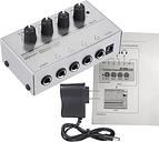 HA400 Ultra-compacto de 4 canales de audio estéreo de auriculares Amplifer