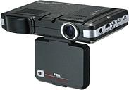 Detector de radar anti coche DVR 2 en 1 Detector de velocidad de radar de leva 720P Dash con banda completa Botón de silenciamiento Grabación de bucle G-Sensor