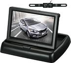 Monitor plegable del aparcamiento de la pantalla del tablero del monitor LCD del coche de la pantalla a color de 4.3 pulgadas