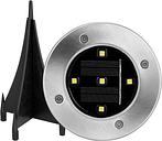 Energía solar LED Ground Light 5 LEDs Lawn Lamp