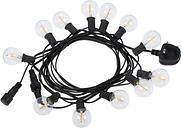 Tomshine AC 220V-240V 21.33ft E12 Base G40 LED Fairy String Light