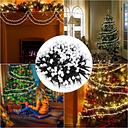 Tomshine 400 Globe LED 26ft String Light Firecracker Bajo Voltaje con 8 Modos Festival Decorativo Impermeable para la Boda interior al aire libre Jardín de Navidad Jardín trasero