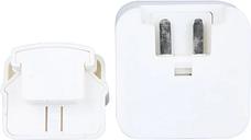 KKmoon 2 USB Adaptador de Corriente AC Cargador de Pared / Viaje Micro USB 30 Pin Cable para iPhone iPad Samsung Galaxy Tablet PC Smart Phone 5.1V 3.1A Enchufe de la EU