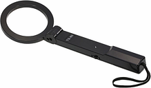 Escáner de alta sensibilidad con detector de metales plegable de mano