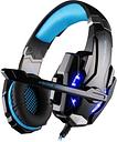 KOTION EACH G9000 3,5 mm para  Auriculares Gaming Auriculares Juego Cancelación de Ruido del Auricular con Micrófono LED Luz  Negro-azul para PS4  Portátiles Tablet Teléfonos Móviles