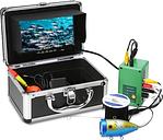 7 '' Kit de cámara de video subacuática a prueba de agua para monitor de peces 1000TVL TFT portátil