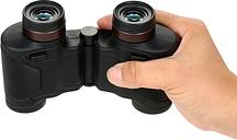 8X25 Automático de enfoque fijo binocular impermeable a prueba de choques compacto enfoque automático prismáticos telescopio para acampar Racing eventos deportivos