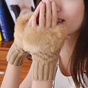Guantes de invierno guante elegante de mujer