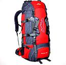 80L mochila marco interno mochila resistente al agua al aire libre Escalada Pesca Senderismo Daypack acampar al aire libre Trekking Mochila de montaña con cubierta de la lluvia