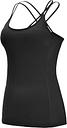 Camisa de yoga para mujer con espalda abierta