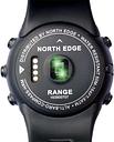 Reloj deportivo con monitor de ritmo cardíaco Range1 NORTH EDGE