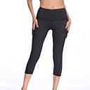 Pantalones cortos de yoga pantalones capri de yoga