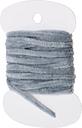 8PCS 3.0m Moscas de pesca con mosca Chenille hilo de seda hilo Woolly Fly Atar materiales