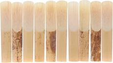 Andoer® 10pcs Piezas Clarinete Reed Fuerza 2.5 2-1 / 2 Caña de Bambú para Clarinete Accesorios