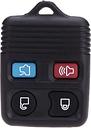 4 botón llavero remoto caso Shell almohadilla recambio para Ford/Lincoln/Mercury