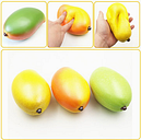 Squishy Jumbo Mango Slow Rising Toys Tags Fruit Collection Gift Decor Toy