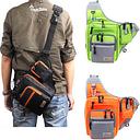 iLure Waterproof Canvas Fishing Bag Multi-Purpose Outdoor Bag Reel Lure Bags Pesca Fishing Bag