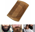 Beard Mustache Comb Wood Anti-static Maintain Grooming Trimming Brush