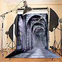 5X7FT  Retro Castle Thin Vinyl Photography Background Backdrop Studio Photo Props Vintage