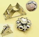 Stainless Steel Balls Hand Spinner Fidget Fingertip Gyro Desk Focus EDC Toy Kit Stress Reliever