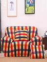 Siège unique Textile Spandex Strench Flexible imprimé élastique canapé housse de canapé protecteur de meubles