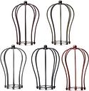 175MM DIY Vintage Anhänger Problem Glühbirnenschutz Drahtkäfig Decke Hängelampenschirm