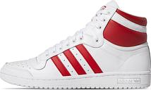 adidas Top Ten Hi - Gr. 36⅔ White / Power Red