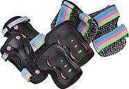 Rio Roller Disco Pad Set, Black/Multi
