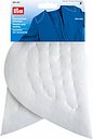 Prym Set-In White Shoulder Pads With Wadding, 1 Pair