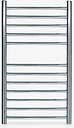 John Lewis & Partners St Ives Central Heated Towel Rail and Valves, from the Wall