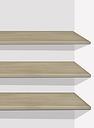 John Lewis & Partners Elstra / Marlow Wardrobe Internal Shelves, Set of 3