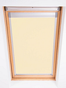 Bloc Blackout Skylight Blind with Silver Frame