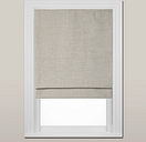 John Lewis & Partners Shawford Blackout Roman Blind