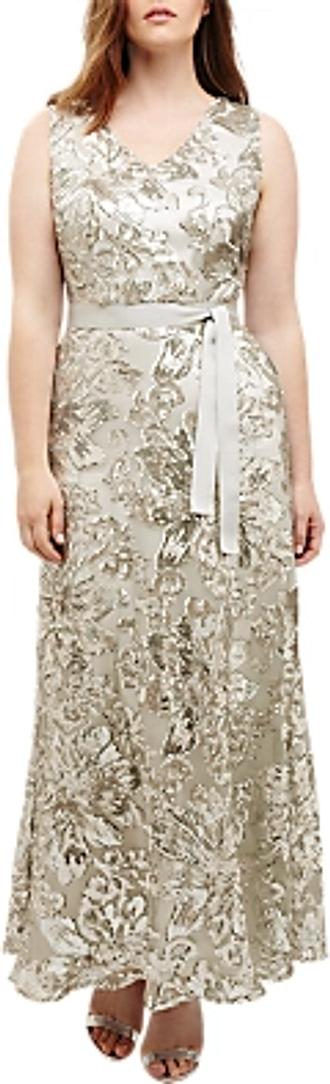 Studio 8 Venus Maxi Dress, Silver