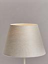 John Lewis & Partners Sophia Pure Linen Tapered Lampshade, Natural