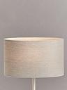 John Lewis & Partners Sophia Pure Linen Oval Lampshade, Natural