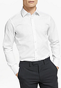 Smyth & Gibson Stretch Cotton Poplin Slim Fit Shirt