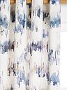Villa Nova Norland Pair Lined Eyelet Curtains