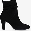 Carvela Comfort Rita Suede Slouch Ankle Boots, Black