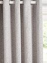 John Lewis & Partners Hidcote Weave Pair Lined Eyelet Curtains