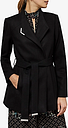 Ted Baker Drytaa Wool Short Belted Wrap Coat