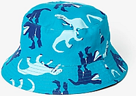 John Lewis & Partners Boys' Dinosaur Sunhat, Blue