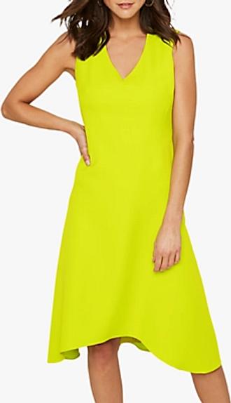 Damsel in a Dress Camilla V-Neck Sleeveless Dress, Lime