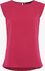French Connection Crepe Cap Sleeve Top