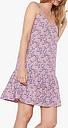 hush Luisa Frill Dress, Pink/Fan Print