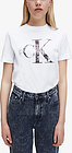 Calvin Klein New York Print Tee, Bright White