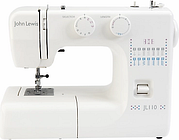 John Lewis & Partners JL110 Sewing Machine, White